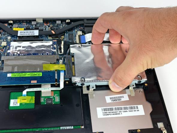 Как разобрать ноутбук Asus Zenbook UX32VD (18)
