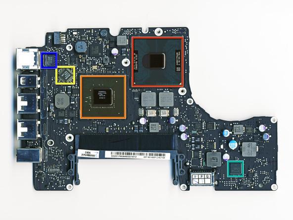 Как разобрать ноутбук Apple MacBook Unibody A1342 (21)