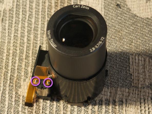 Как разобрать фотоаппарат Sony Cyber-shot DSC-H2 (30)
