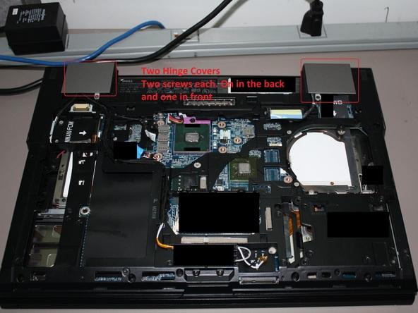 Как разобрать ноутбук Dell Latitude E6500 (28)
