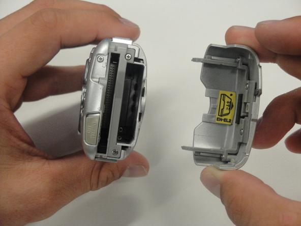 Как разобрать фотоаппарат Nikon Coolpix 3500 (2)