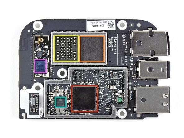Как разобрать телевизионную приставку Apple TV 2nd Generation (24)