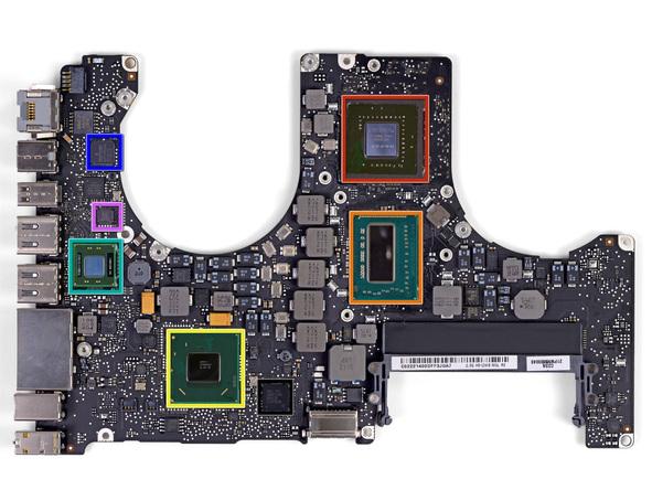 """Как разобрать ноутбук Apple MacBook Pro 15"""" Unibody (22)"""