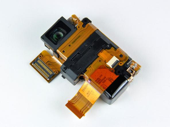 Как разобрать фотоаппарат Nikon Coolpix S1000pj (29)