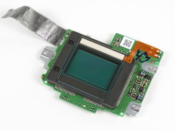 Как разобрать фотоаппарат Nikon D5100 (27)