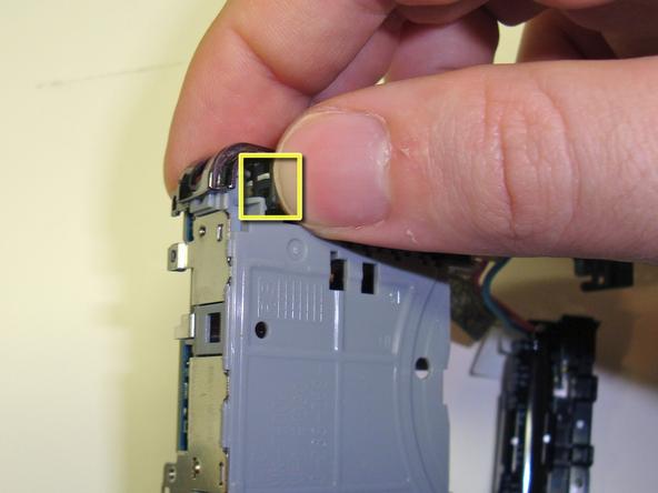 Как разобрать фотоаппарат Sony Cyber-Shot DSC-W120 (34)