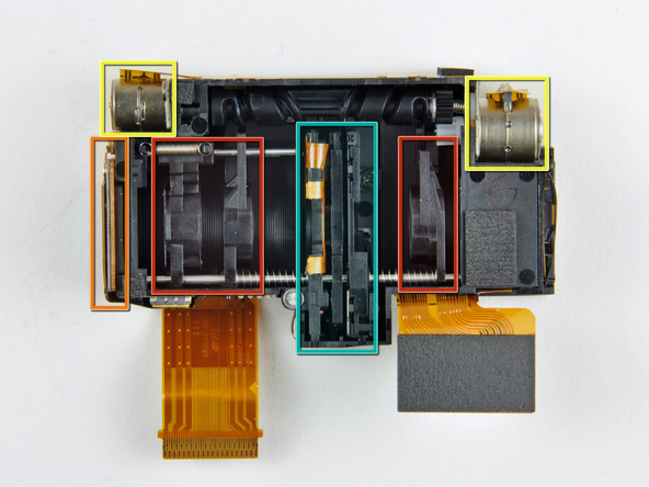 Как разобрать фотоаппарат Nikon Coolpix S1000pj (31)