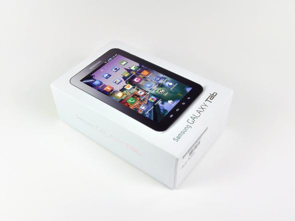 Как разобрать планшет Samsung Galaxy Tab (2)