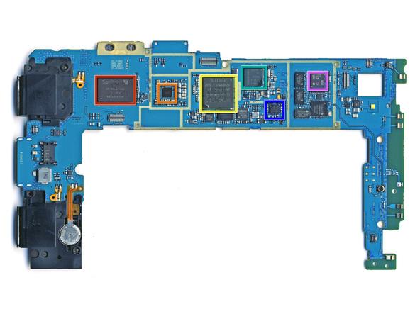 Как разобрать планшет Samsung Galaxy Tab (31)
