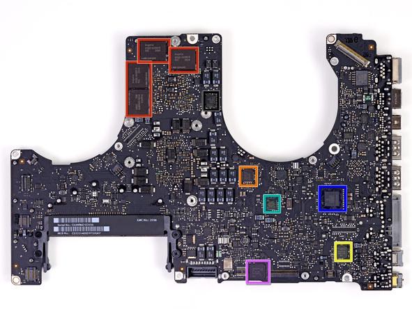 """Как разобрать ноутбук Apple MacBook Pro 15"""" Unibody (23)"""