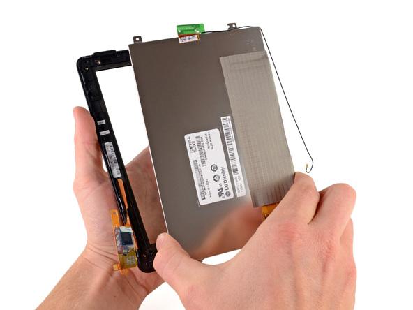 Как разобрать планшет Amazon Kindle Fire (29)