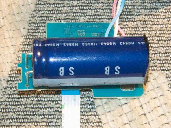 Как разобрать фотоаппарат Sony Cyber-shot DSC-H2 (38)