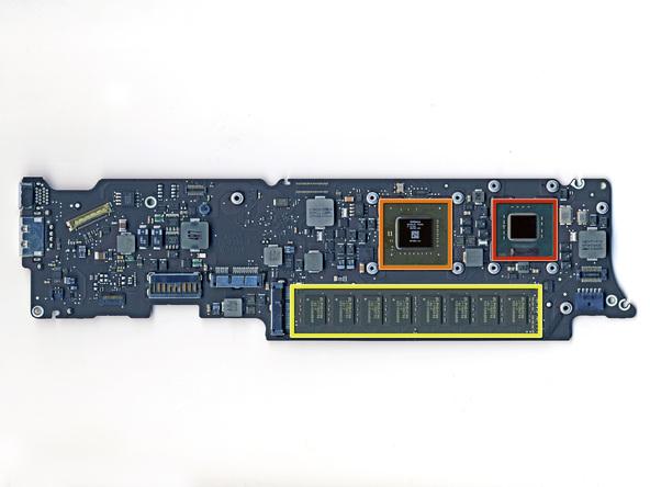 """Как разобрать ноутбук Apple MacBook Air 11"""" (33)"""