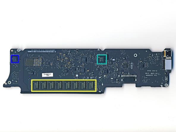 """Как разобрать ноутбук Apple MacBook Air 11"""" (34)"""