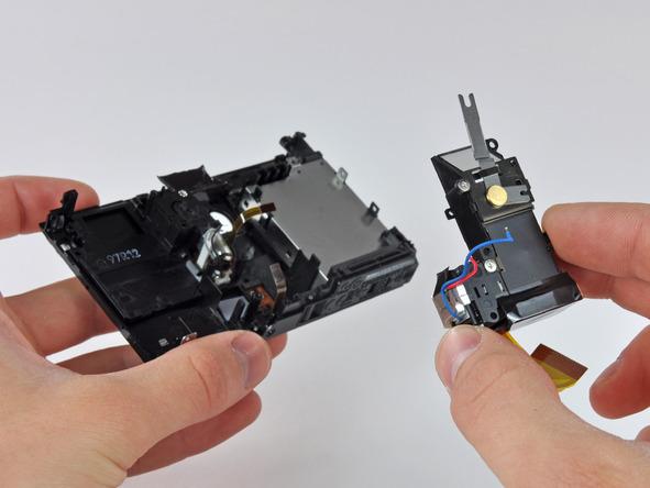 Как разобрать фотоаппарат Nikon Coolpix S1000pj (37)