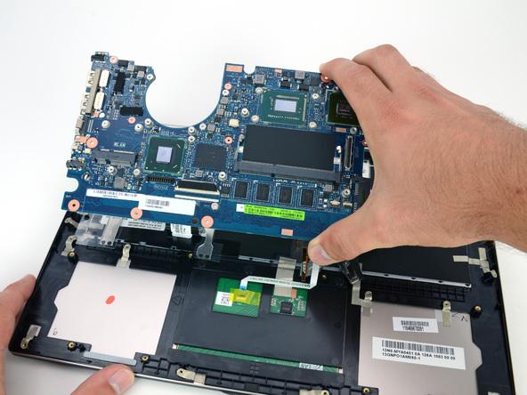 Как разобрать ноутбук Asus Zenbook UX32VD (30)