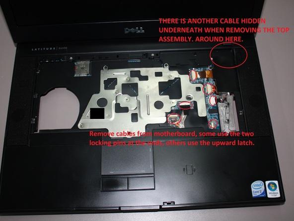 Как разобрать ноутбук Dell Latitude E6500 (38)
