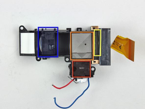 Как разобрать фотоаппарат Nikon Coolpix S1000pj (38)