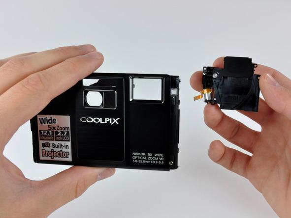 Как разобрать фотоаппарат Nikon Coolpix S1000pj (39)