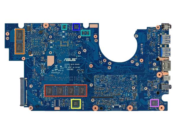 Как разобрать ноутбук Asus Zenbook UX32VD (32)