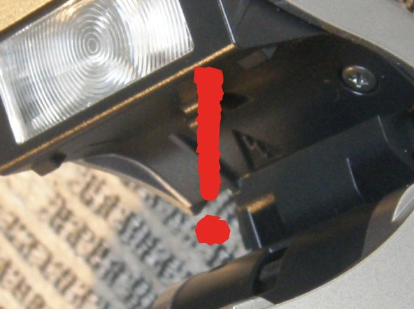 Как разобрать фотоаппарат Sony Cyber-shot DSC-H2 (4)