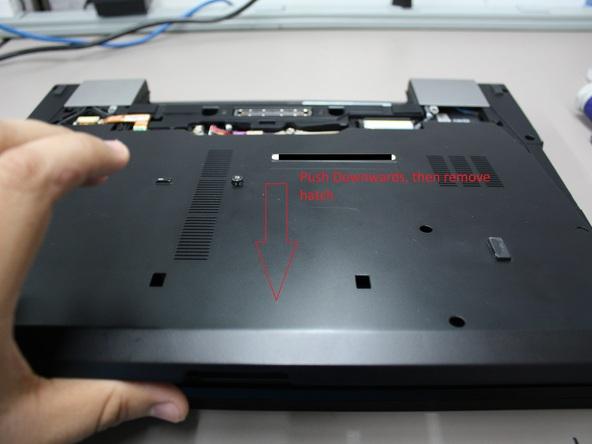 Как разобрать ноутбук Dell Latitude E6500 (5)