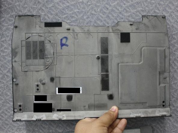 Как разобрать ноутбук Dell Latitude E6500 (6)