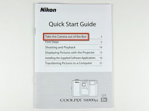 Как разобрать фотоаппарат Nikon Coolpix S1000pj (4)