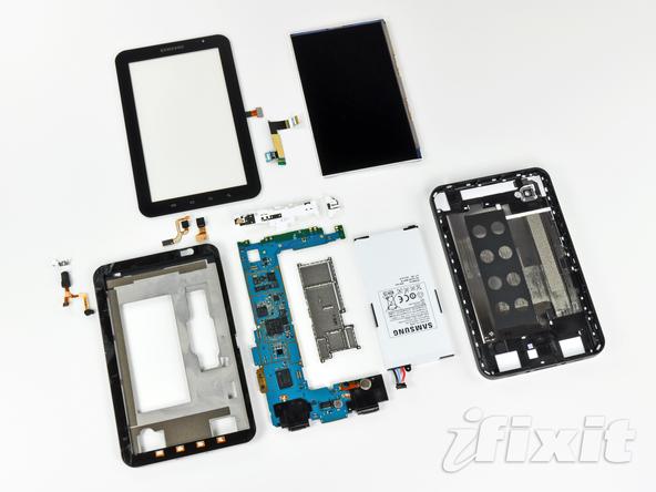 Как разобрать планшет Samsung Galaxy Tab (43)