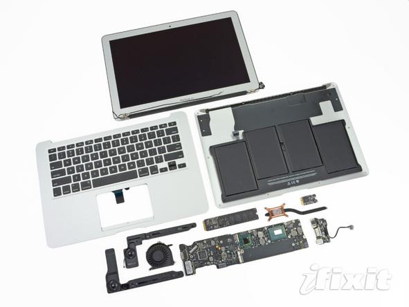 """Как разобрать ноутбук Apple MacBook Air 13"""" (42)"""