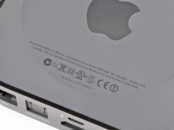 Как разобрать телевизионную приставку Apple TV 2nd Generation (6)