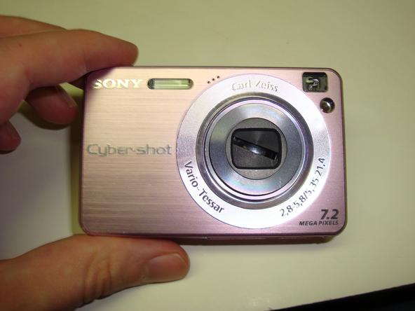 Как разобрать фотоаппарат Sony Cyber-Shot DSC-W120 (11)