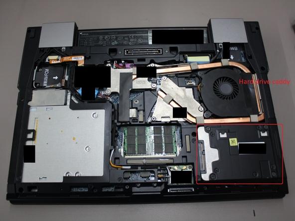 Как разобрать ноутбук Dell Latitude E6500 (10)