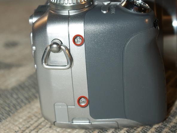 Как разобрать фотоаппарат Sony Cyber-shot DSC-H2 (10)
