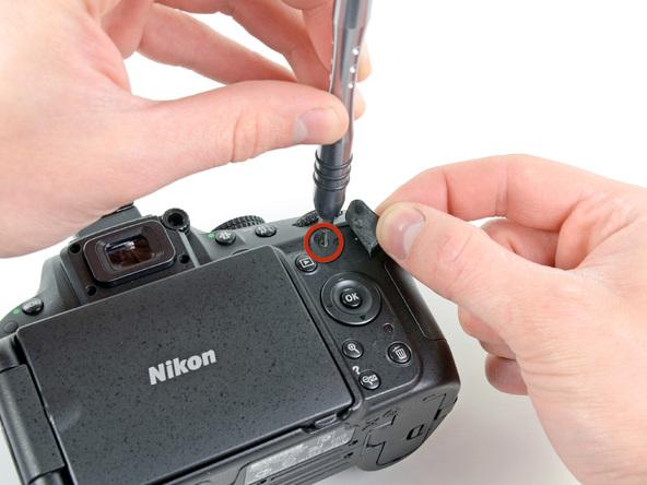 Как разобрать фотоаппарат Nikon D5100 (8)