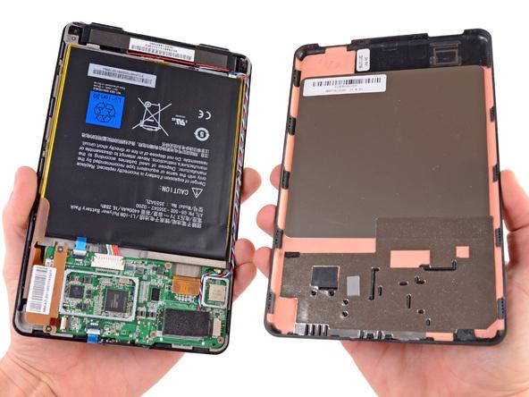 Как разобрать планшет Amazon Kindle Fire (10)