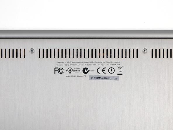 Как разобрать ноутбук Asus Zenbook UX32VD (5)