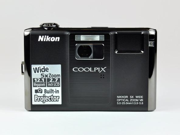 Как разобрать фотоаппарат Nikon Coolpix S1000pj (7)