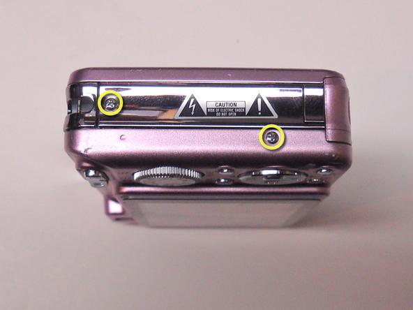 Как разобрать фотоаппарат Sony Cyber-Shot DSC-W120 (14)