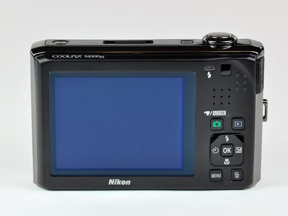 Как разобрать фотоаппарат Nikon Coolpix S1000pj (8)