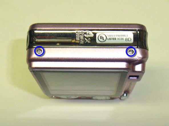 Как разобрать фотоаппарат Sony Cyber-Shot DSC-W120 (15)