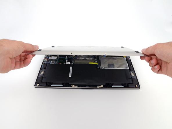 Как разобрать ноутбук Asus Zenbook UX32VD (9)