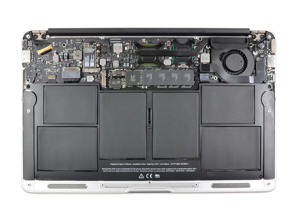 """Как разобрать ноутбук Apple MacBook Air 11"""" (12)"""