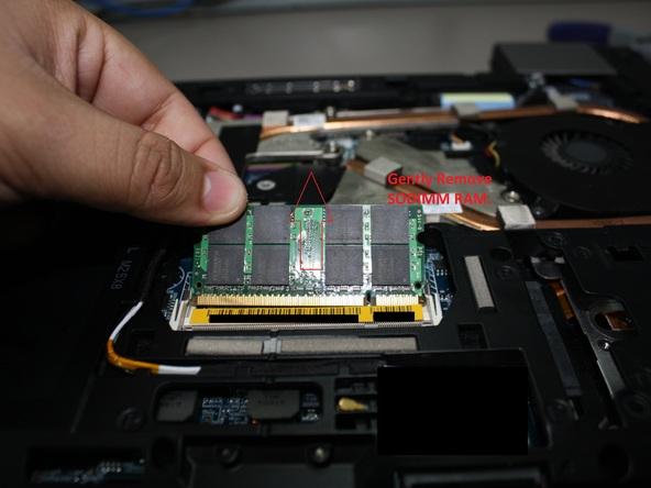 Как разобрать ноутбук Dell Latitude E6500 (16)
