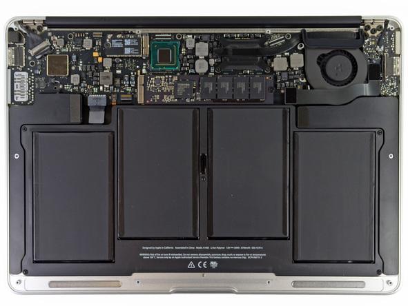"""Как разобрать ноутбук Apple MacBook Air 13"""" (14)"""