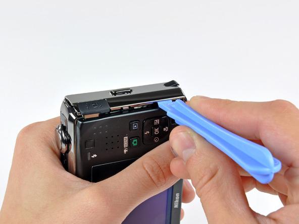 Как разобрать фотоаппарат Nikon Coolpix S1000pj (13)