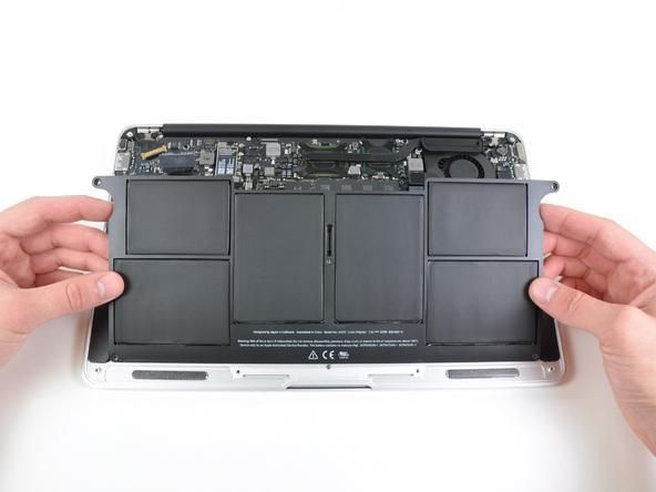 """Как разобрать ноутбук Apple MacBook Air 11"""" (14)"""