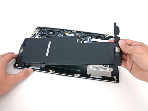 Как разобрать ноутбук Asus Zenbook UX32VD (12)