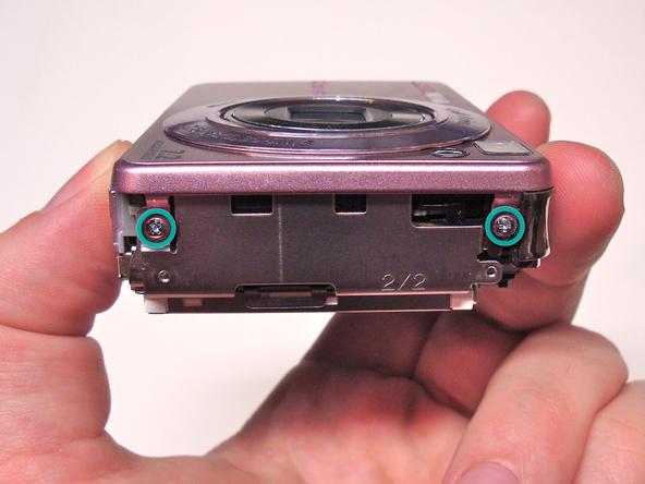 Как разобрать фотоаппарат Sony Cyber-Shot DSC-W120 (20)