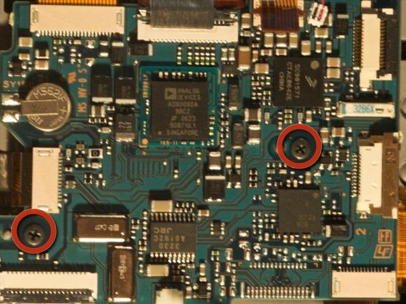 Как разобрать фотоаппарат Sony Cyber-shot DSC-H2 (21)